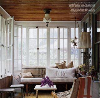 Cottage Living Wood Ceiling